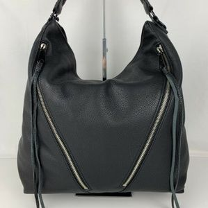 Rebecca Minkoff leather Moto hobo